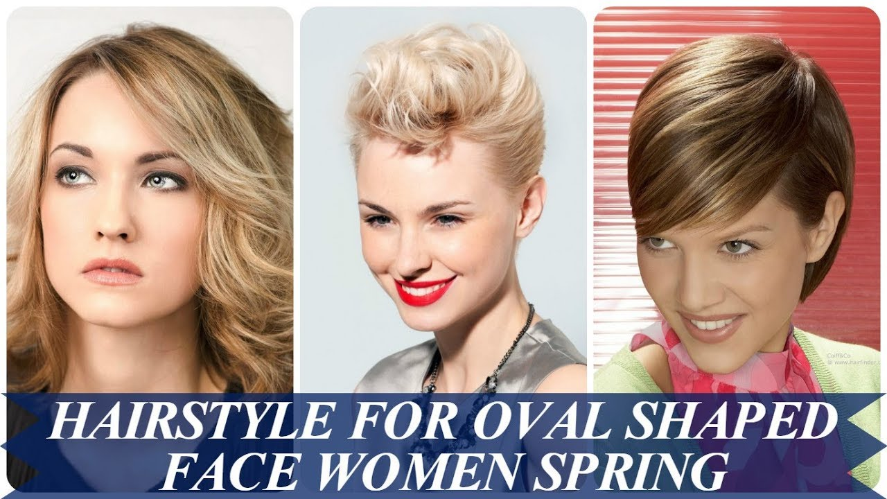 20 new ideas hairstyle for oval shaped face women spring 2018 - YouTube