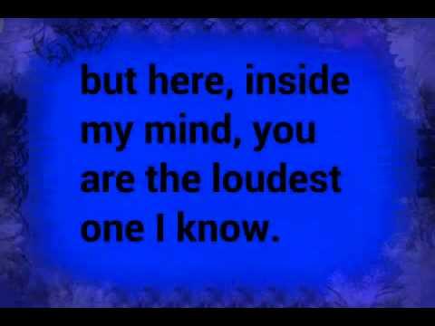 Quote lyrics - Evans Blue