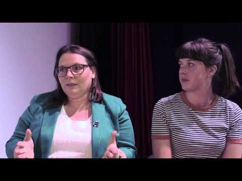 No Offence stars, Joanna Scanlan and Alexandra Roach talk about their roles