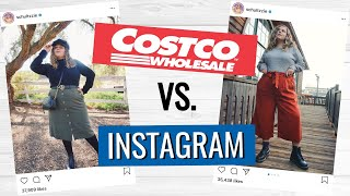 I Tried Styling Costco Clothes into Trendy Instagram Outfits