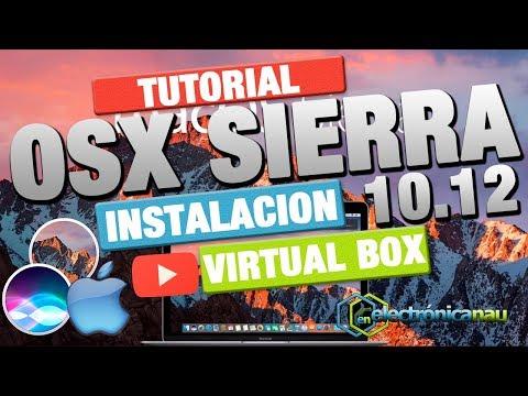 Virtual Box : Instalar Imagen ISO De Mac OSX Sierra 2017