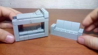 лего самоделки#3 мебель для дома