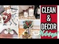 CLEAN + DECORATE WITH ME FOR CHRISTMAS 🎄 CHRISTMAS KITCHEN DECOR 2019 | Bits And Beitz