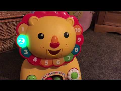 Fisher Price 3-in-1 Sit, Stride & Ride Lion (In Action!)