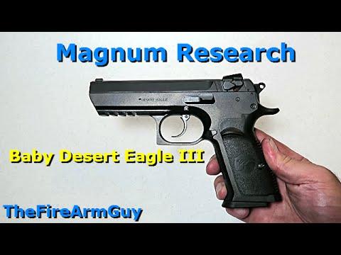 New Baby Desert Eagle Iii Thefirearmguy Youtube