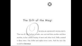 The Gift of the Magi Audio Recording