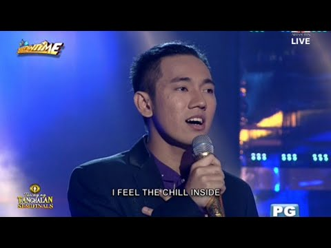 John Michael dela Cerna | Your love | Tawag ng Tanghalan semi-finals Day 6