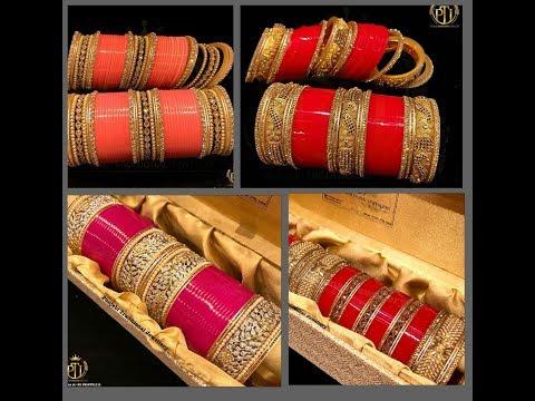 Wedding Chura || Bridal Traditional Punjabi Chura Bangles|| Lifestyle