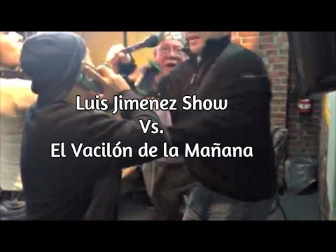 PELEA! Luis Jimenez Show vs. El Vacilón de la Mañana