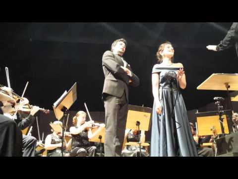 Angela Nisi (soprano), Giuseppe Tommaso (tenor) & amazonas philharmonic orchestra (part 2/7)