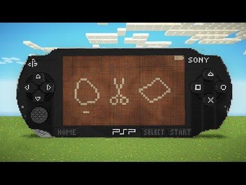 Sony PSP в Minecraft.