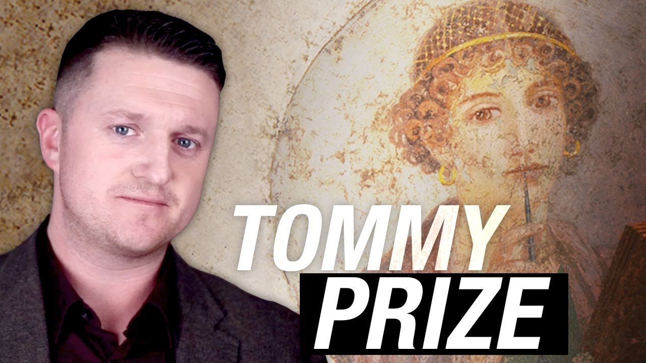 Tommy Robinson is winning the world's leading FREE SPEECH PRIZE — and Rebel News is going!