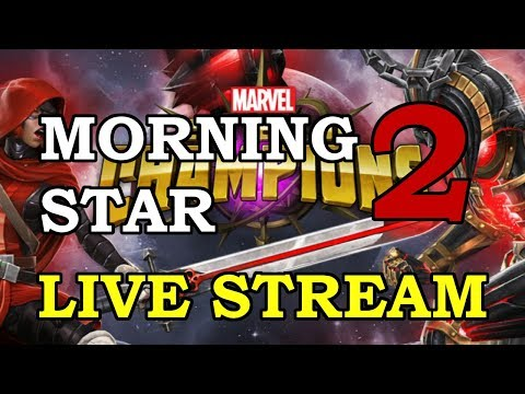 Morningstar Arena - Part 1 | Marvel Contest of Champions Live Stream