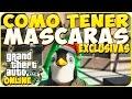TRUCOS GTA 5 ONLINE - COMO TENER MASCARAS EXCLUSIVAS Y RARAS - GTA 5 PS4, PC Y XBOX ONE