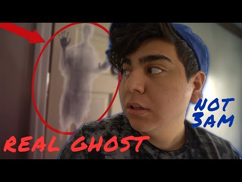 Finding the REAL GHOST in my HOUSE!!! (CAUGHT ON CAMERA)