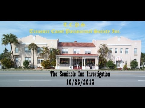 10.26.13 Seminole Inn : Indiantown, Florida Paranormal Investigation