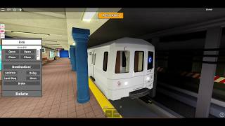 THE NEW C TRAIN EXTENSION!! (Roblox Subway Train Simulator)