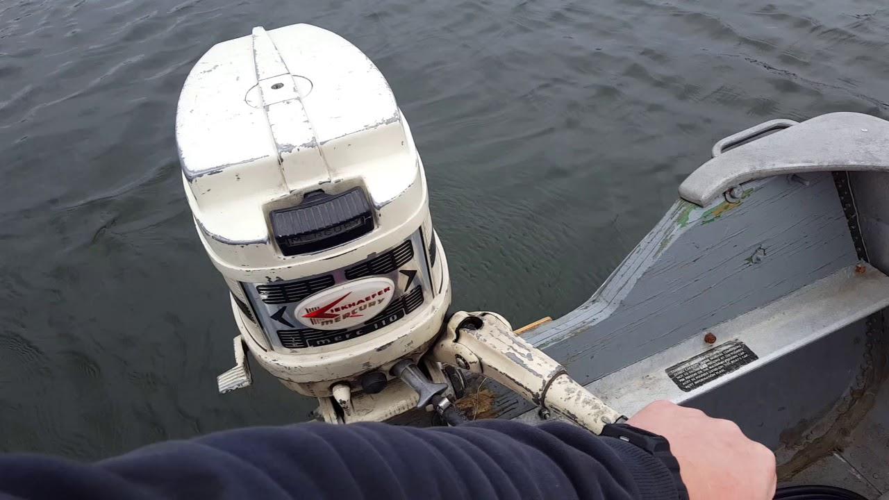 1960 Mercury 110 9 8hp Outboard Motor
