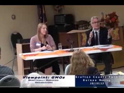 GMO vs Non-GMO at Grafton County Farm Bureau Meeting
