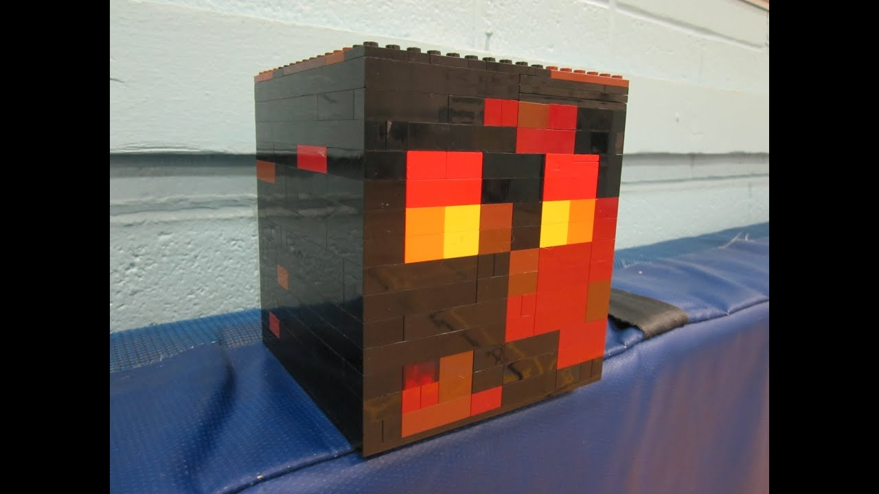 real life minecraft magma cube the image kid has it. Black Bedroom Furniture Sets. Home Design Ideas