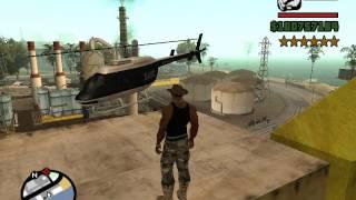 GTA San Andreas как получить полицейский вертолёт(в этом видео я покажу, как получить полицейский вертолёт без модов и программ., 2015-04-13T12:30:30.000Z)