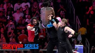 The New Day back The Shield into a corner: Survivor Series 2017 (WWE Network Exclusive)