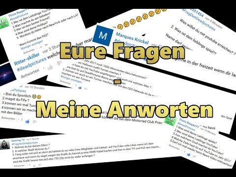 EURE FRAGEN - MEINE ANWORTEN | November 2016 | DeadPicture - Duur: 39:11.