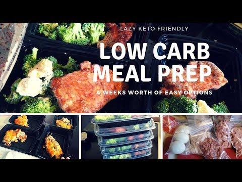 Meal Prep | Lazy Keto | Low Carb | Great For OTR Truckers!