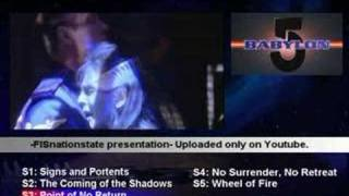 Babylon 5 ALL FIVE SEASONS Opening Credits ( VEGAS Style)