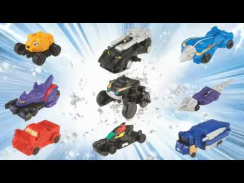 Power Rangers RPM: Micro Megazord Sets