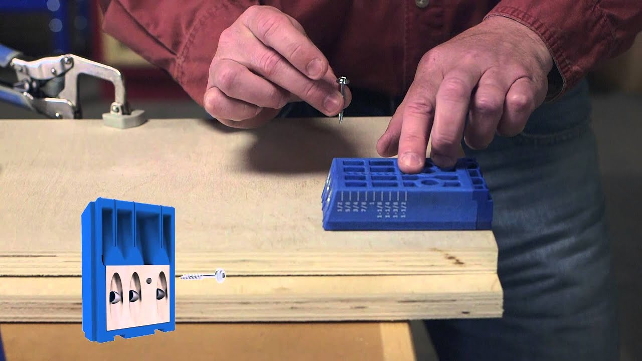 Quick Tip How To Use Your Kreg Jig Drill Guide Block Portably