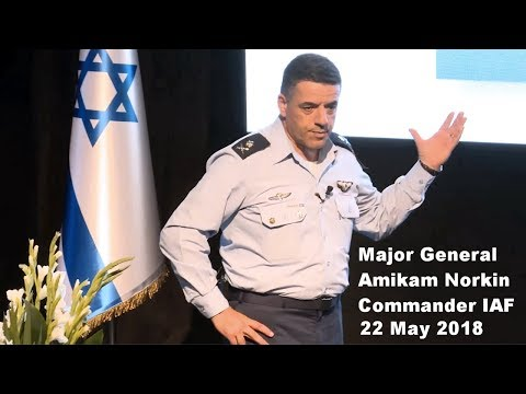 Commander Israeli Air Force, Major General Amikam Norkin