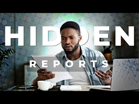 The Hidden Consumer Reporting Agencies [Overview] - Finance Talk On March 17th Of 2018