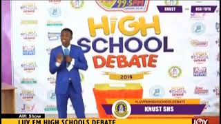 Luv FM High Schools Debate - AM Show on JoyNews (2-10-18)
