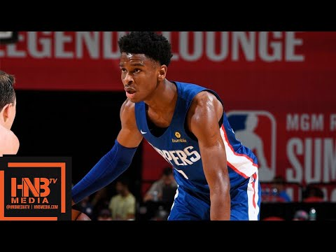 LA Clippers vs Washington Wizards Full Game Highlights / July 11 / 2018 NBA Summer League