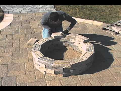 Firepit Kit Round  Assembly Video  YouTube