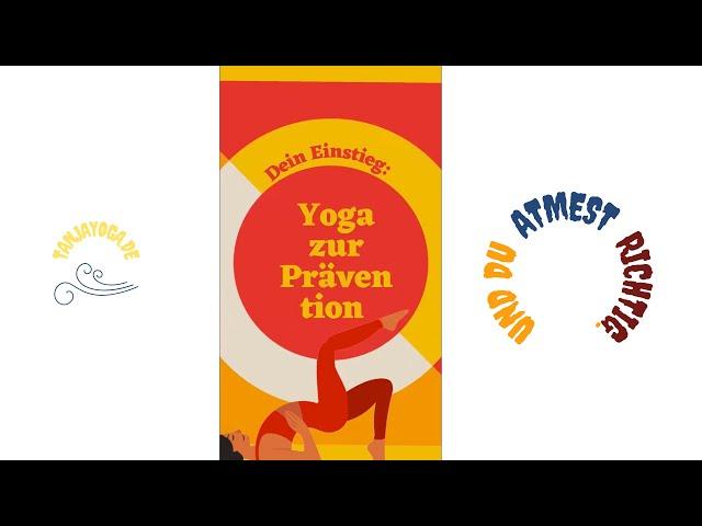 So lernst du Yoga. Ich zeige dir wie. Neu: Präventionskursus. #Shorts