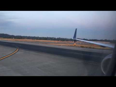 Delta 737-900 - Honolulu to Seattle...Nighttime Takeoff and