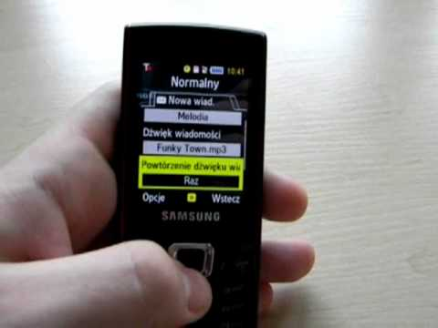 Wideorecenzja telefonu Samsung Ultra Classic S7220 3/3