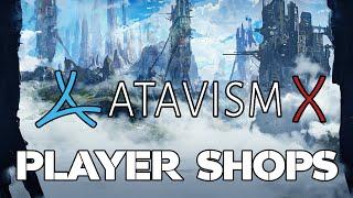 Atavism Online - Player Shops