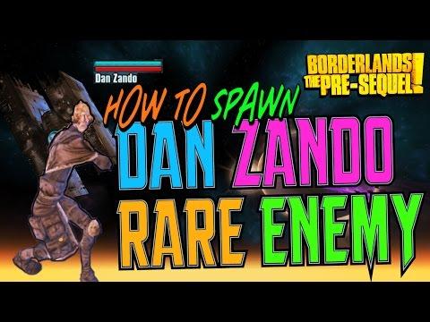 DAN ZANDO - Secret Enemy Spawning Guide (Borderlands the Pre-Sequel)