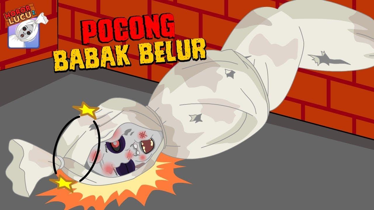 Pocong Babak Belur ☠ Pocong Sial ☠ Damn Ghost ☠ Horor Lucu ☠ Dolant Kreatif