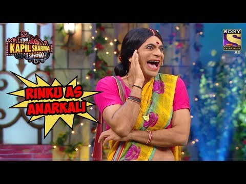 Rinku As Anarkali - The Kapil Sharma Show