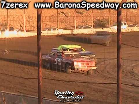 Street Stock Heat 1 Barona Speedway 10-21-2017