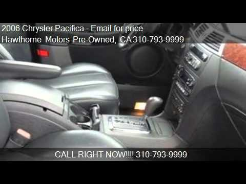 2006 Chrysler Pacifica Touring Suv For Sale In Lawndale