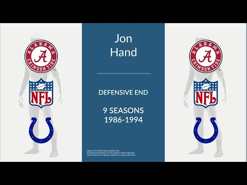 Jon Hand: Football Defensive End