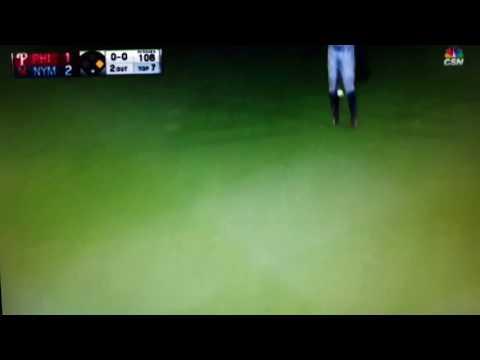 Nick Williams 1st MLB hit.