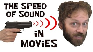 Speed of sound in movies