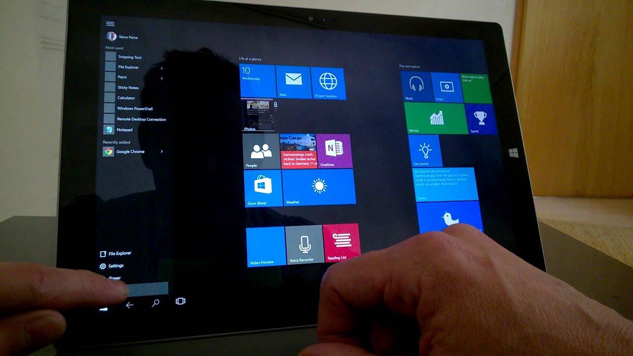 Bestes Windows 10 Tablet