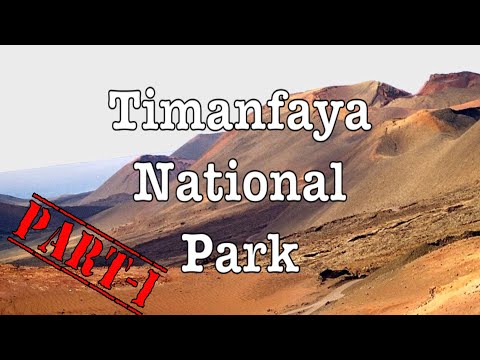 Timanfaya Park Tour Part-1 HD // Lanzarote // Timanfaya National Park // Volcanoes // Canary Islands